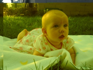 Audra at 5 months